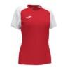 Koszulka sportowa damska Joma Academy IV czerwono biała 901335.602